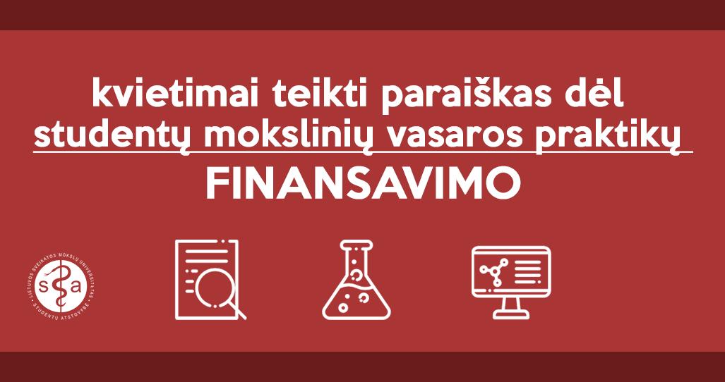 kvietimai finans